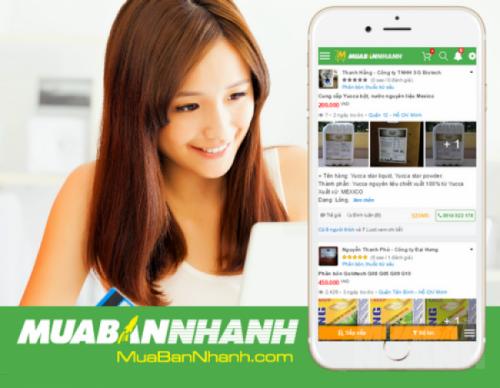 Tìm mua online phân bón, thuốc trừ sâu tại MuaBanNhanh